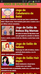Jogos de salão de beleza - screenshot thumbnail