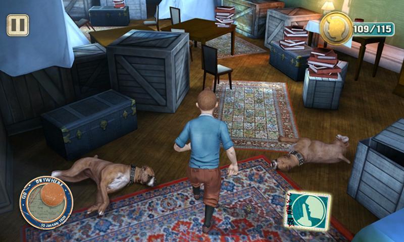The Adventures of Tintin screenshot #3