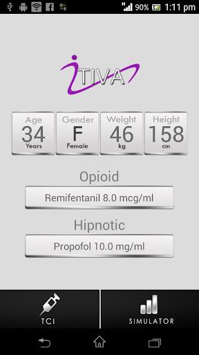 iTIVA b-plus Anesthesia