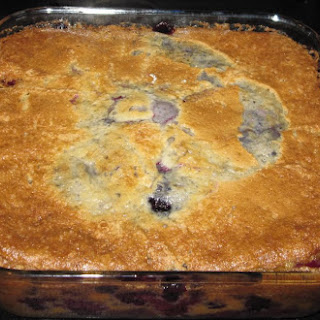 Stupid Easy Blackberry Cobbler