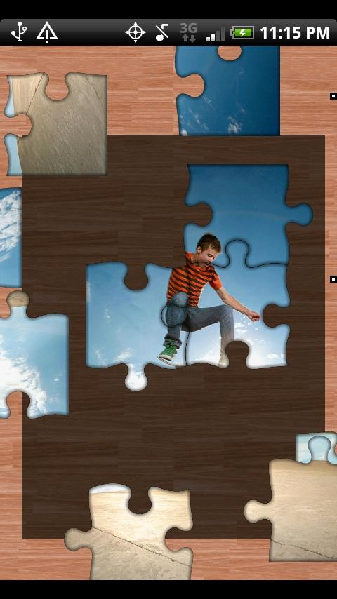 Jigz Lite: Jigsaw Puzzle Maker - screenshot