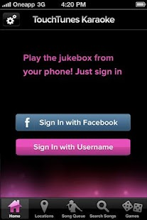 TouchTunes Karaoke - screenshot thumbnail