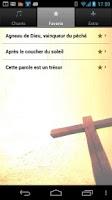 Screenshot of Chants spirituels