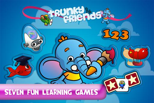 Trunky Friends - School