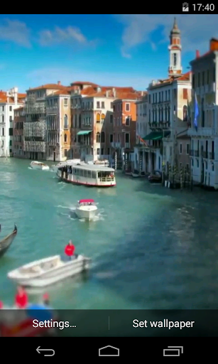 Venice Video Live Wallpaper