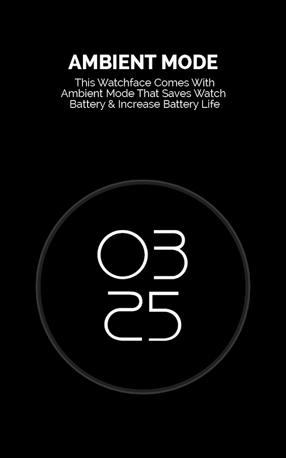 Nova Material Watch Face- screenshot