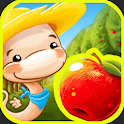 Fruit Worm Bubble HD icon