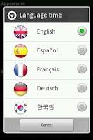 Screenshot of Learn Time