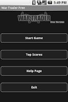 Screenshot of War Trader Free