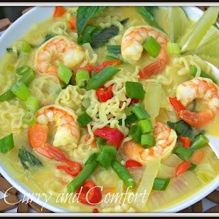 Ramen Noodle Thai Basil Soup