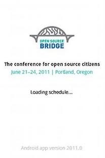 Open Source Bridge Schedule - screenshot thumbnail