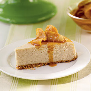 Caramel-Apple Cheesecake.