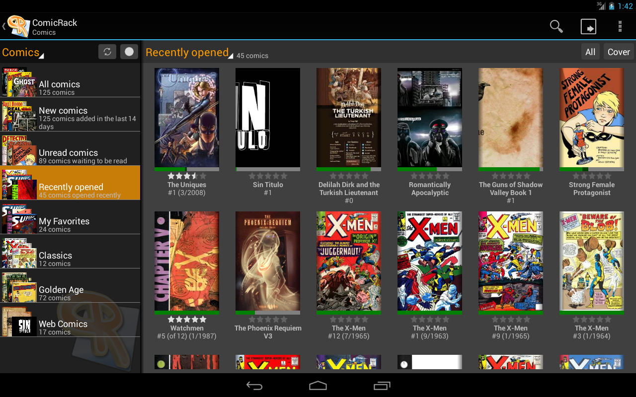 ComicRack Free- screenshot
