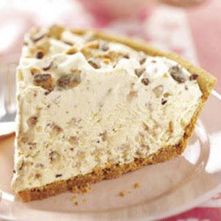 Frosty Toffee Bits Pie.