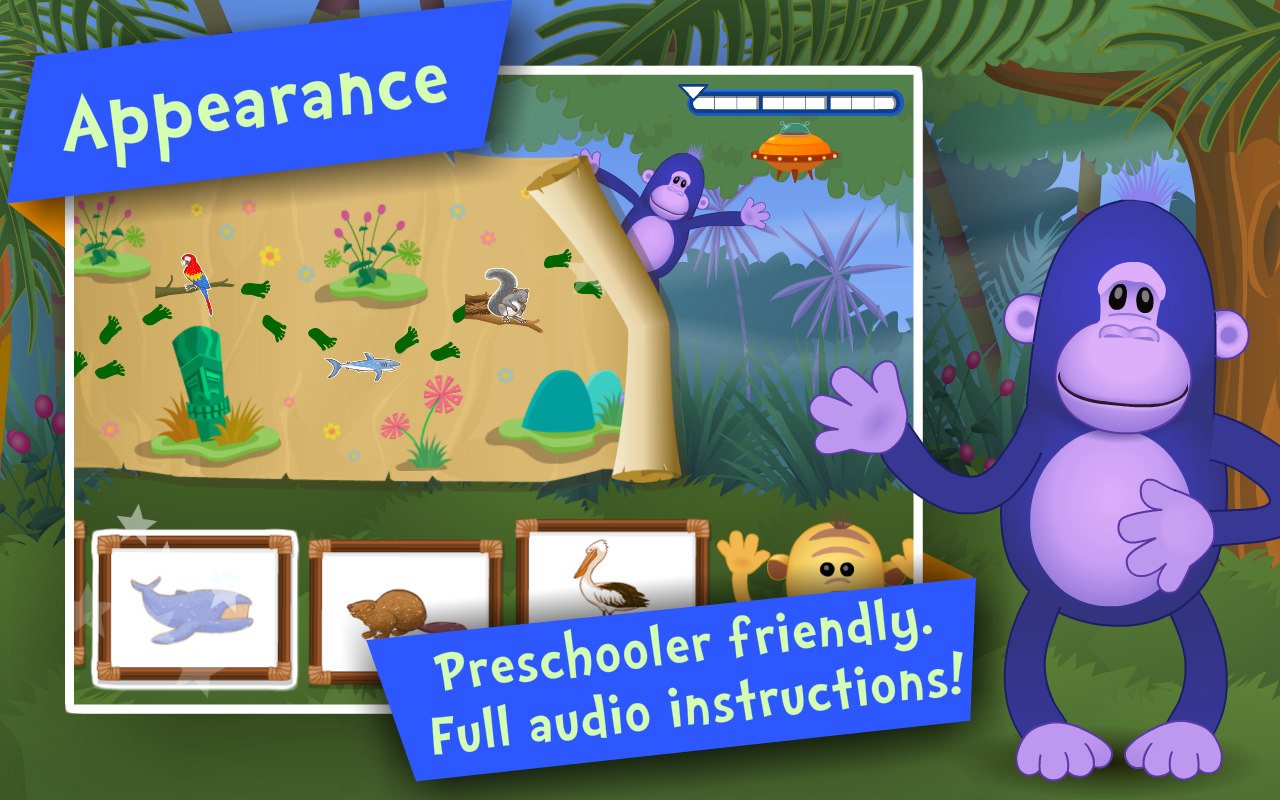Animals! Kids Preschool Games - screenshot