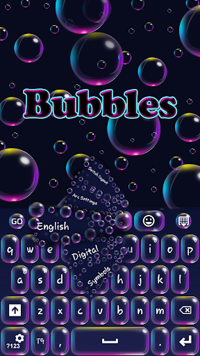 GO键盘气泡