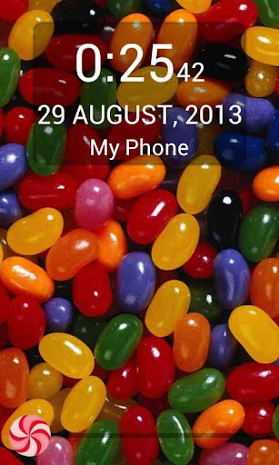 Candy Crunch lockscreen Free
