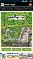 Screenshot of DE State Parks Guide
