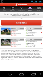 Scotiabank Dream Home Finder - screenshot thumbnail