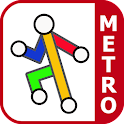 Barcelona Metro by Zuti icon