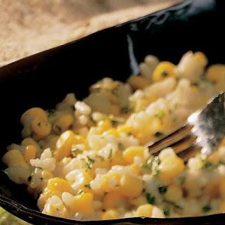 Creamy Corn and Garlic Risotto Recipe