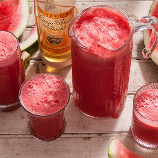 Beer and Watermelon Cocktail