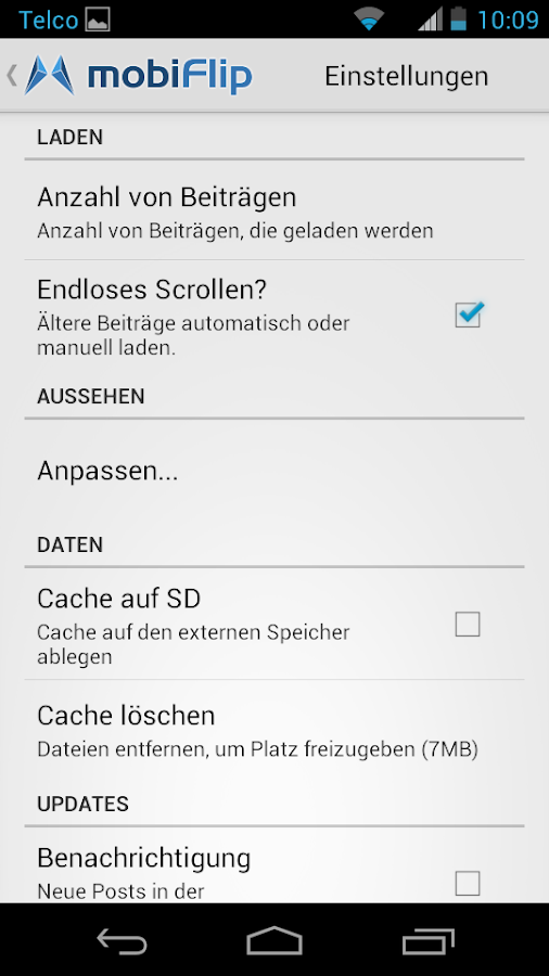 mobiFlip.de - screenshot