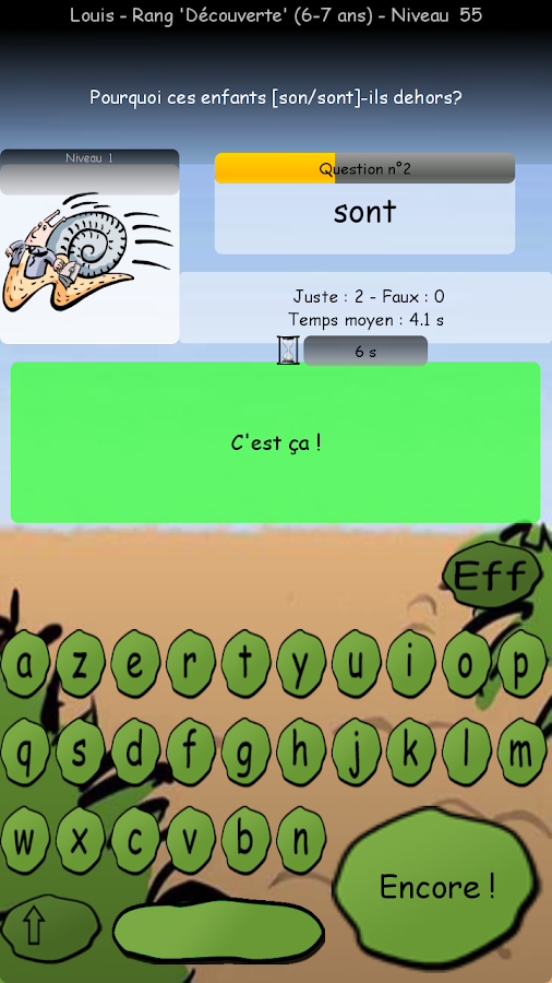 ToKe'MoTs– Capture d'écran