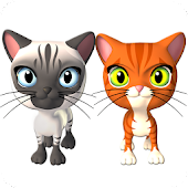 App Talking 3 Friends Cats && Bunny APK for Windows Phone
