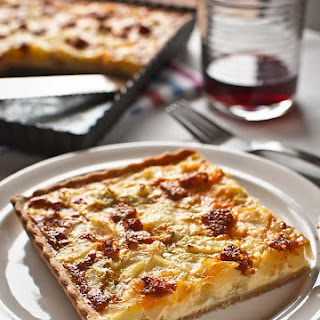 Sausage and Potato Stew Quiche.