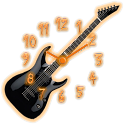 Analog Clock - Guitar Theme