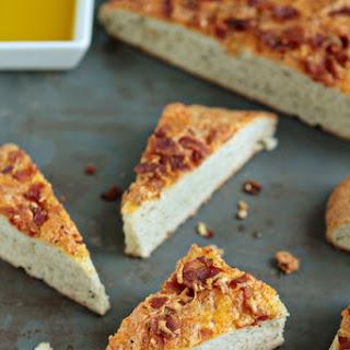 Bacon and Cheese Focaccia Bread