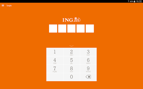 ING Bankieren - screenshot thumbnail