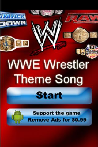 WWE Wrestler Theme Song Trivia - screenshot