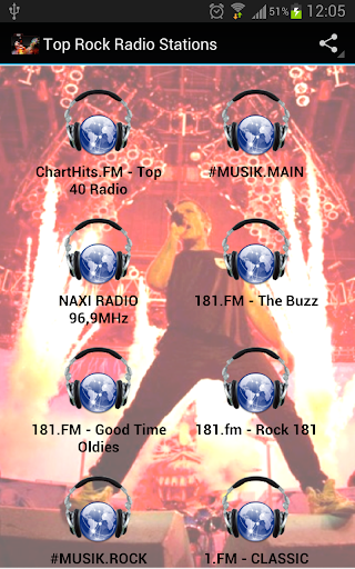 Top Rock Radio Stations
