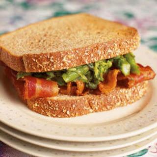 Asparagus and Bacon on Toast