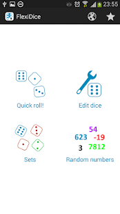 Flexi Dice, custom dice roller- screenshot thumbnail