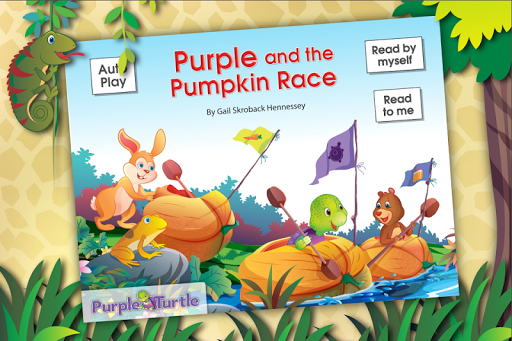 Purple Turtle: Pumpkin Race