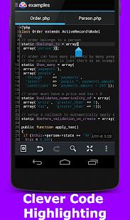 AWD - PHP/HTML/CSS/JS IDE - screenshot thumbnail