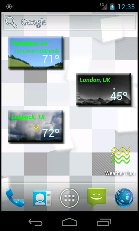 Weather Tunnel - Your Climate - screenshot