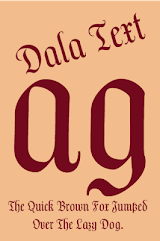 Dala Text FlipFont App-Download APK (com monotype android