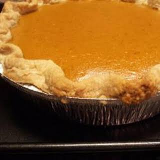 Creamy Pumpkin Pie.