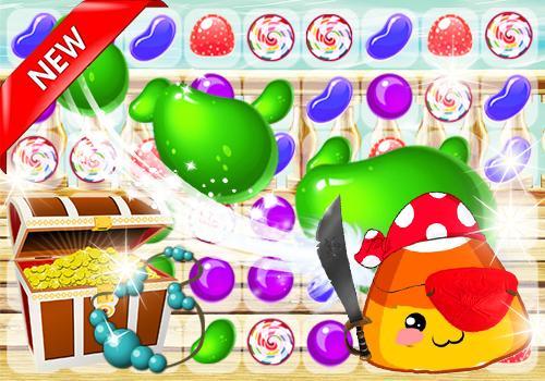 Candy Pirate Pou Smash