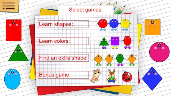 Shapes and Colors for kids- screenshot thumbnail