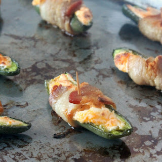 Cheesy Jalapeño Poppers
