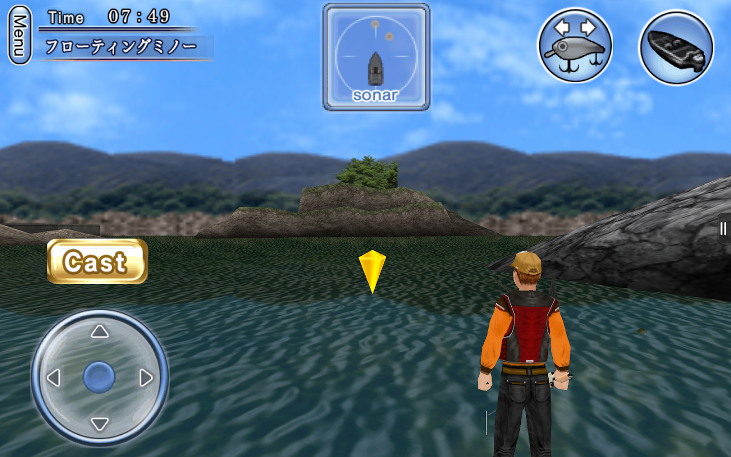 Bass fishing 3d free android apps auf google play for Bass fishing apps