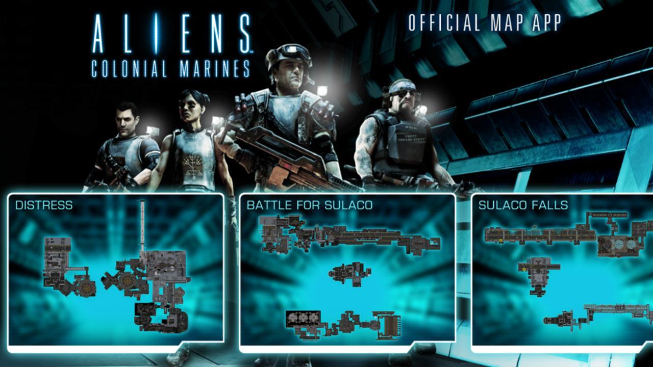 Aliens Colonial Marines App- screenshot