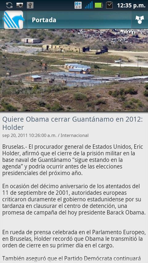 Periodico El Porvenir - screenshot