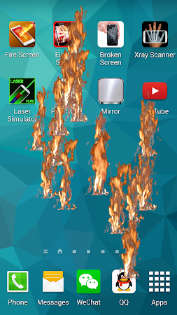 Fire Screen - Crack Screen 2.0 screenshot 642054