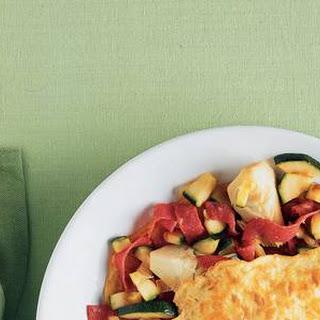 Gevulde Omelet Met Salami